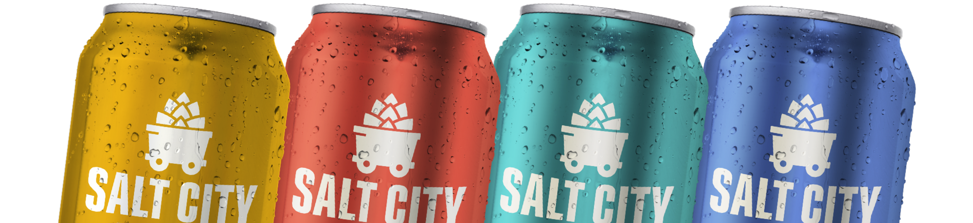 Salt City Brewing Co. flagship beers